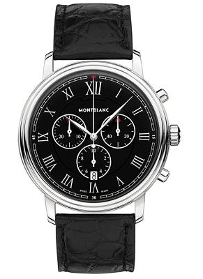 Montblanc Tradition chronograph black dial