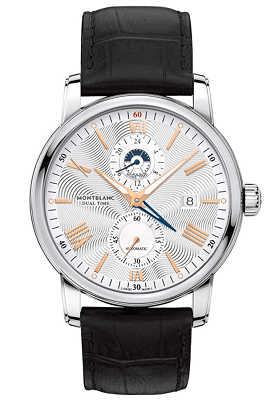 Montblanc automatic silvery watch
