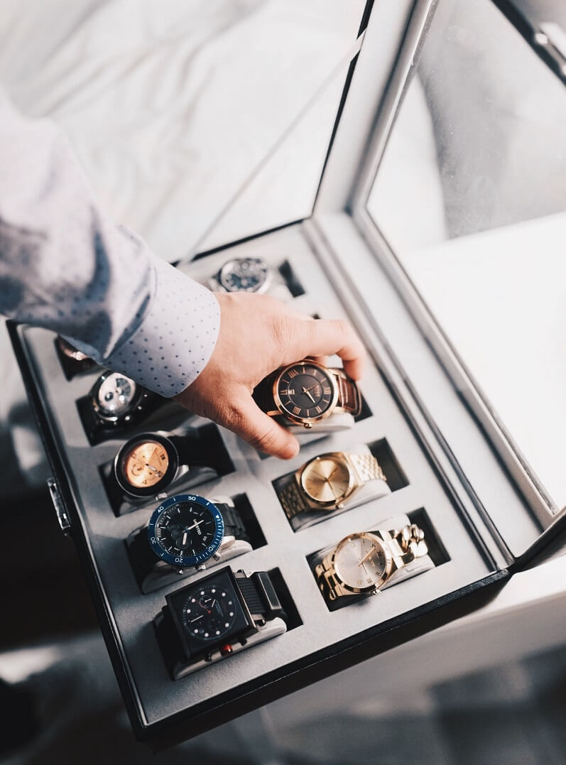 Store your watch
