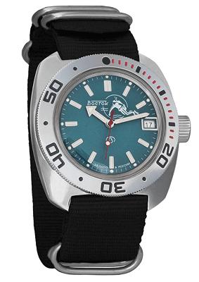 Vostok Amphibian affordable dive watch