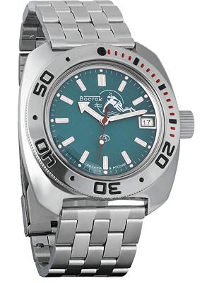 Vostok watch with acrylic glass