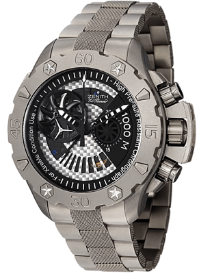 Zenith dive and sport watch