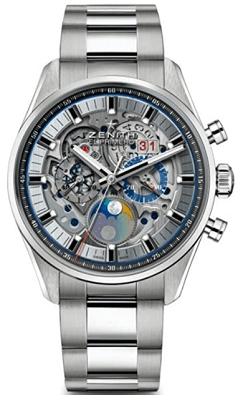 Zenith skeleton watch