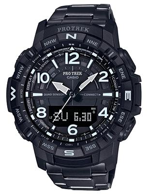 smartwatch with titanium strap