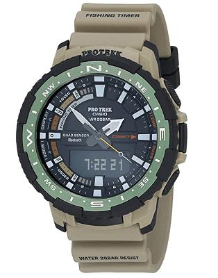 Casio Men's Pro Trek smartwatch for boating