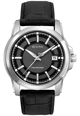 bulova watch with sweeping second hand
