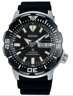 dive watch with day date magnifier