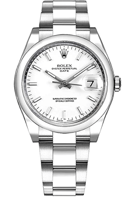 ladies watch with cyclops lens