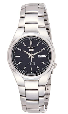 seiko watch with sweeping second hand
