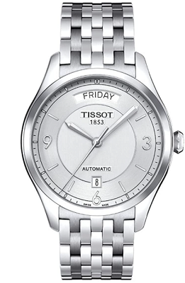 tissot swiss watch with sweeping second hand
